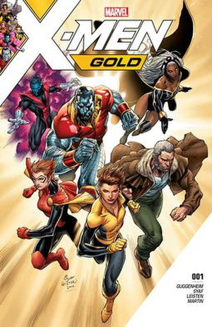 X-Men Gold - Image: X Men Gold