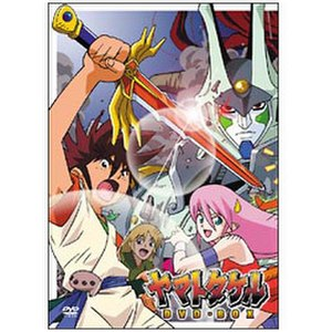 Yamato Takeru (anime) - Image: Yamato Takeru complete box cover