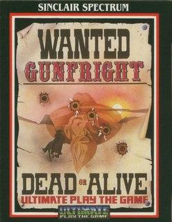 <i>Gunfright</i> 1985 action-adventure game video game