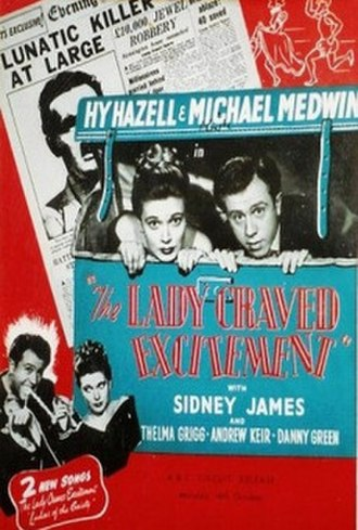 "The Lady Craved Excitement - Image: ""The Lady Craved Excitement"" (1950)"