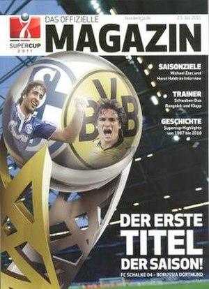 2011 DFL-Supercup - Image: 2011 DFL Supercup programme