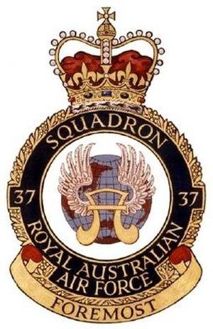 No. 37 Squadron RAAF - Image: 37Sqn Crest