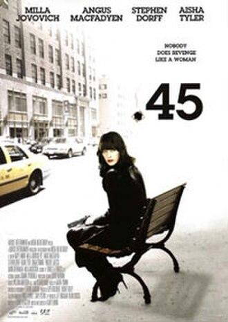 .45 (film) - Official U.S. film poster