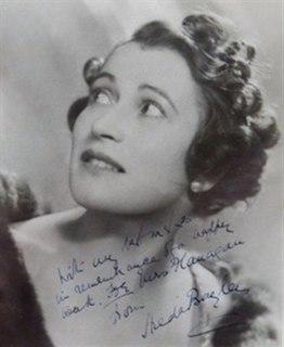 Hilda Bayley British actress