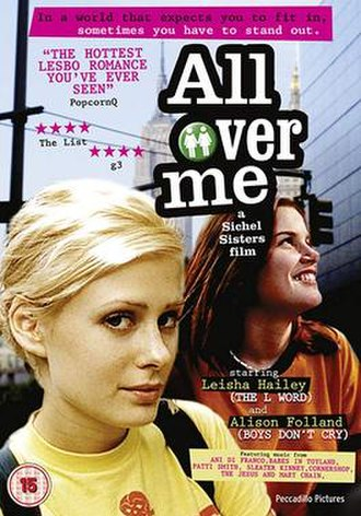 All Over Me (film) - Theatrical release poster