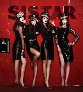 <i>Alone</i> (EP) 2012 EP by Sistar