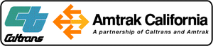 Hanford station - Image: Amtrak California Logo