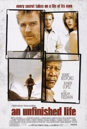 An Unfinished Life - Theatrical release poster
