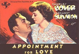 <i>Appointment for Love</i> 1941 film by William A. Seiter
