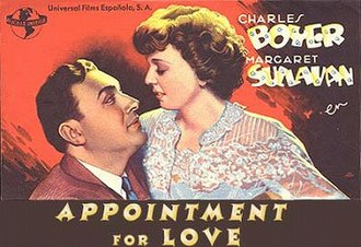 Appointment for Love - Original movie poster