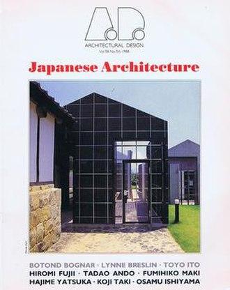 Architectural Design - Cover of Architectural Design Vol 58 No. 5/6 1988