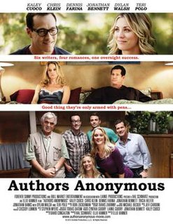 <i>Authors Anonymous</i> 2014 comedy indie film directed by Ellie Kanner