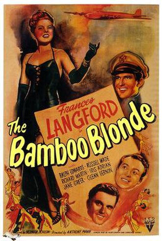 The Bamboo Blonde - Theatrical release poster