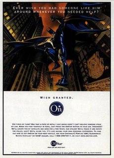 <i>Batman</i> OnStar commercials film directed by Vincent Ward