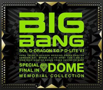 Special Final in Dome Memorial Collection - Image: Big Bang Special Final in Dome Memorial Collection