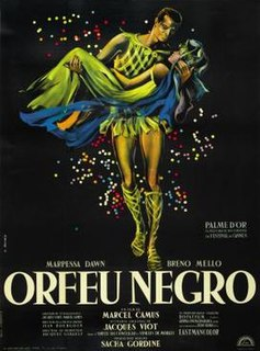 <i>Black Orpheus</i> 1959 film by Marcel Camus