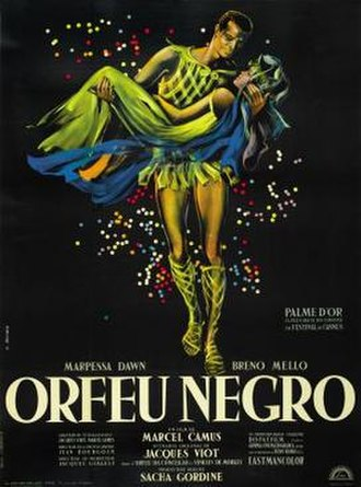 Black Orpheus - Original film poster