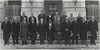 Black Cabinet - Roosevelt's black advisors in 1938.