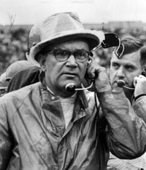 Blanton Collier - Collier on the sidelines in 1963