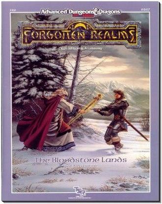Faerûn - The Bloodstone Lands module from TSR.