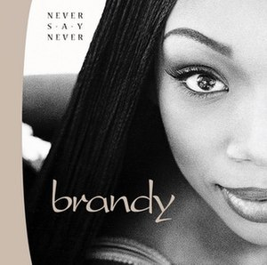 Never Say Never (Brandy album) - Image: Brandy never say never