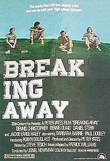 <i>Breaking Away</i> 1979 film by Peter Yates