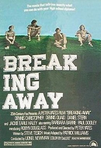 Picture of a movie: Breaking Away