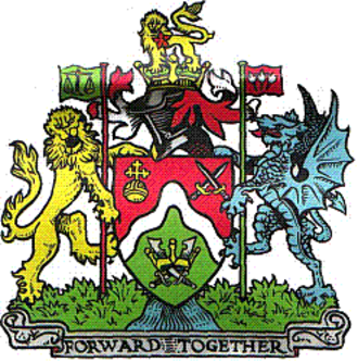 Coat of arms of the London Borough of Brent - Coat of arms of Brent