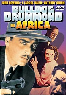<i>Bulldog Drummond in Africa</i> 1938 film by Louis King