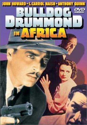 Bulldog Drummond in Africa - Image: Bulldog Drummond in Africa Film Poster