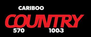 CKCQ-FM - Image: CKCQ Cariboo Country 570 100.3 logo