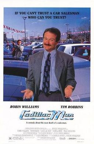 Cadillac Man - Theatrical release poster