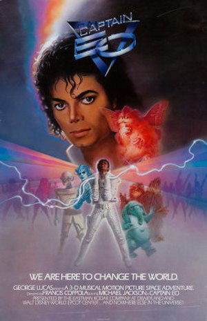 Captain EO - Image: Captain EO poster