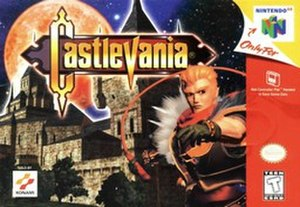 Castlevania (1999 video game) - North American Nintendo 64 cover art