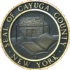 Official seal of Cayuga County