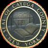 Sello oficial del condado de Cayuga