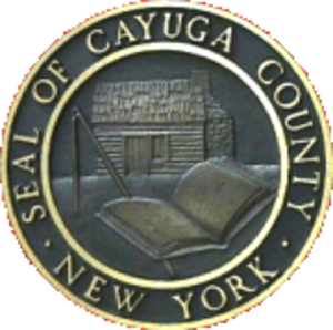 Cayuga County, New York - Image: Cayuga County ny seal