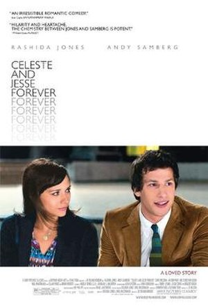 Celeste and Jesse Forever - Theatrical Release poster