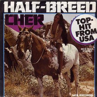 Half-Breed (song) - Image: Cher half USA cover