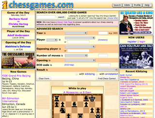 Chessgames.com Internet chess community