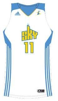 Chicago Sky uniform 2011