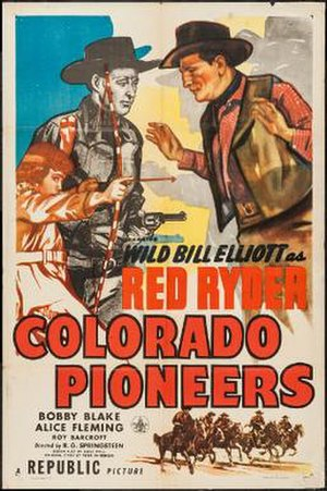 Colorado Pioneers - Theatrical release poster