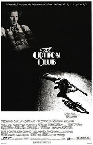 The Cotton Club (film) - Theatrical release poster