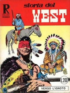 <i>Storia del West</i> comic book series