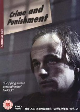 Crime and Punishment (1983 film) - DVD cover