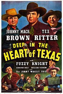 <i>Deep in the Heart of Texas</i> (film) 1942 film by Elmer Clifton