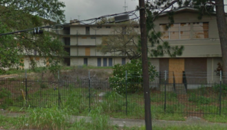 Behrman, New Orleans - Vacate units at the Charles DeGaulle Manor apartments complex