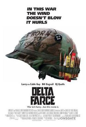 Delta Farce - Promotional movie poster, which parodies the 1987 film Full Metal Jacket