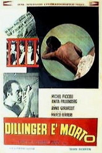 Dillinger Is Dead - Image: Dillinger Is Dead poster