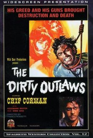 The Dirty Outlaws - Wild East DVD Cover